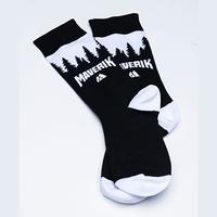 Maverik Knit Crew Sock- Pair