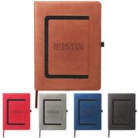 Large Roma Journal with Horizontal Phone Pocket