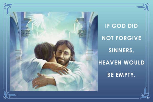 God Forgive Sinners LDS Mormon E-Card