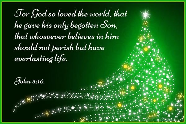 For God So Loved the World Ecard