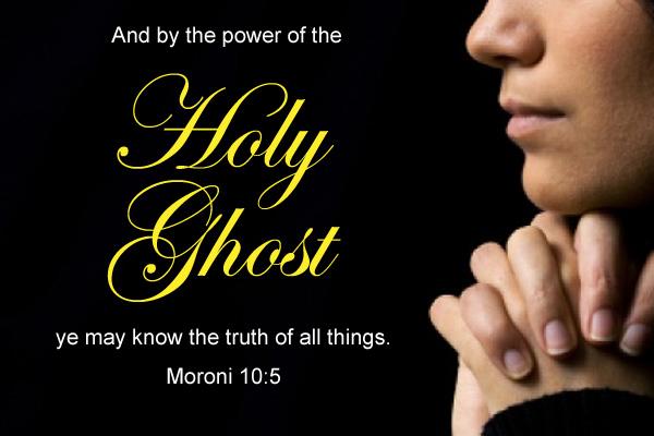 Holy Ghost Mormon E-Card