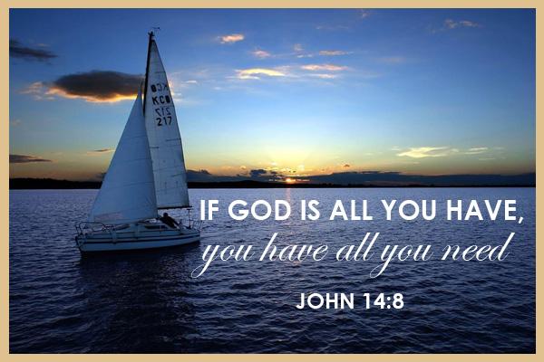 God is all You Need Mormon Ecard