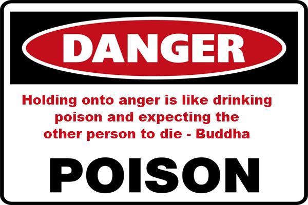 Anger Like a Poison LDS Mormon E-Card