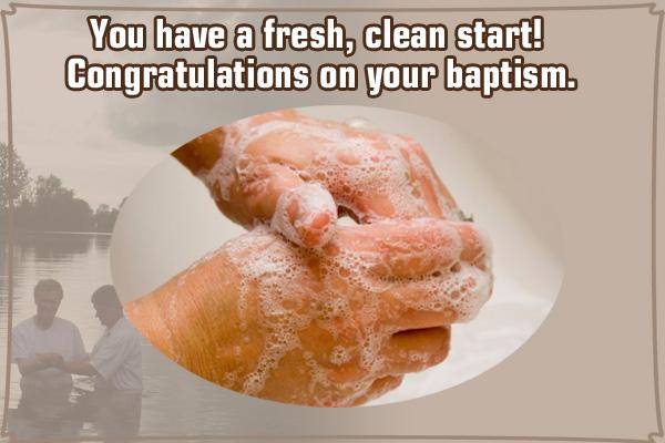 Fresh Clean Start LDS Mormon E-Card