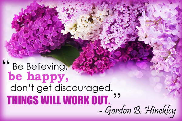 Be Believing Encouragement Mormon E-Card