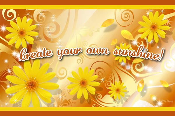 Create Own Sunshine Mormon Ecard