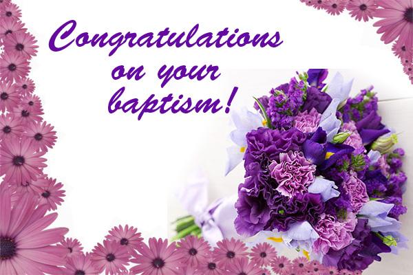 Congratulations on Baptism Mormon E-Card