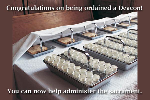 Congratulations Deacon Mormon Ecard