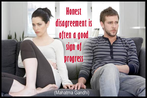 Disagreement Sign of Progress Mormon Ecard