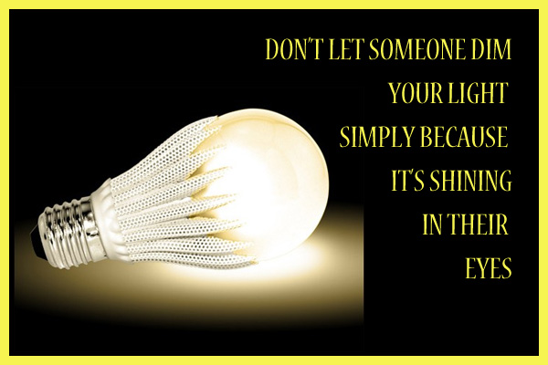 Dont Dim Your Light Mormon E-Card