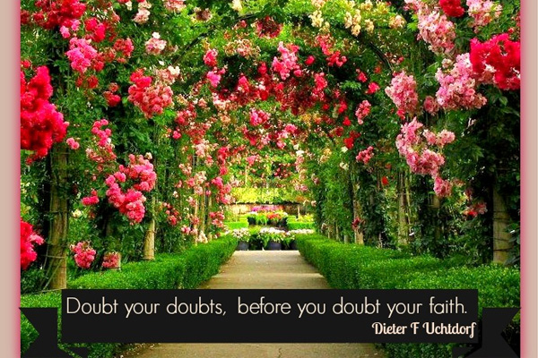 Doubt Your Doubt Mormon E-Card