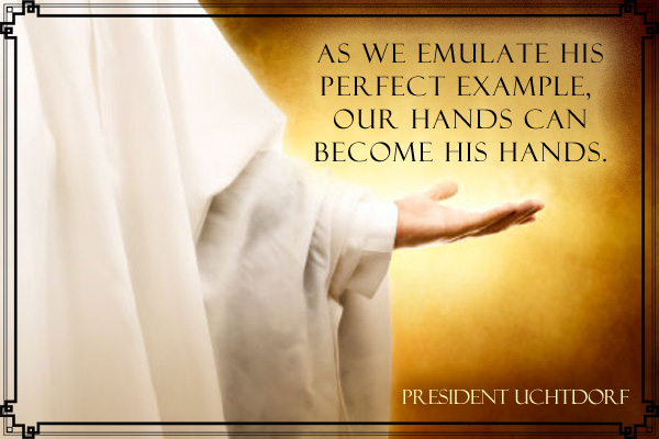 Emulate His Perfect Example Mormon Ecard