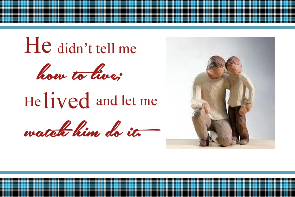 Fathers Example Mormon Ecard