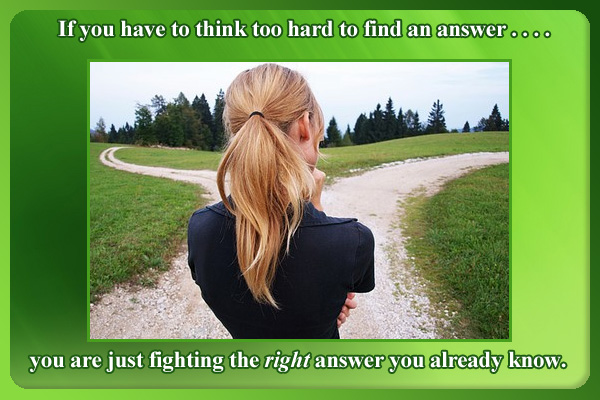 Fighting Right Answer LDS Mormon E-Card