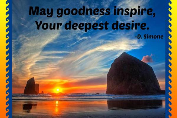 Goodness Inspire Deepest Desire Mormon Ecard