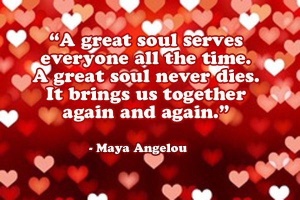 Great Soul Serves Everyone Ecard