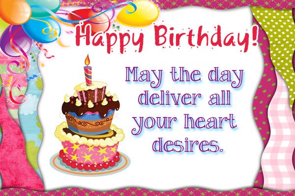 Happy Birthday Heart Desires Mormon Ecard
