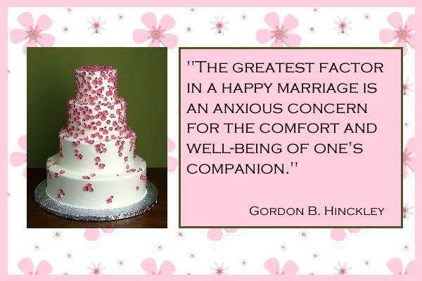 Happy Marriage Mormon Ecard