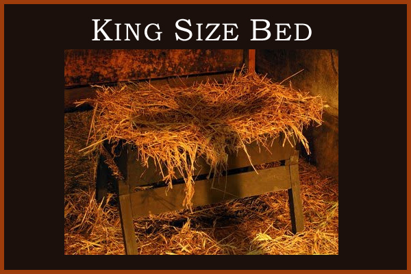 King Size Bed LDS Mormon Ecard