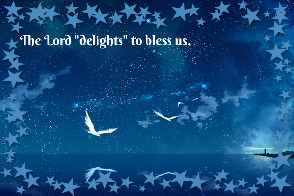 Lord Delight to Bless Us LDS Mormon E-Card