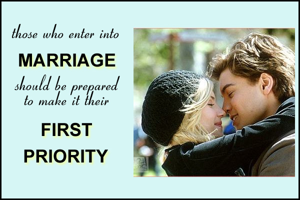 Marriage First Priority Mormon Ecard