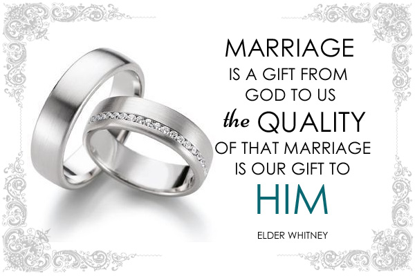 Marriage Gift from God LDS Mormon Ecard