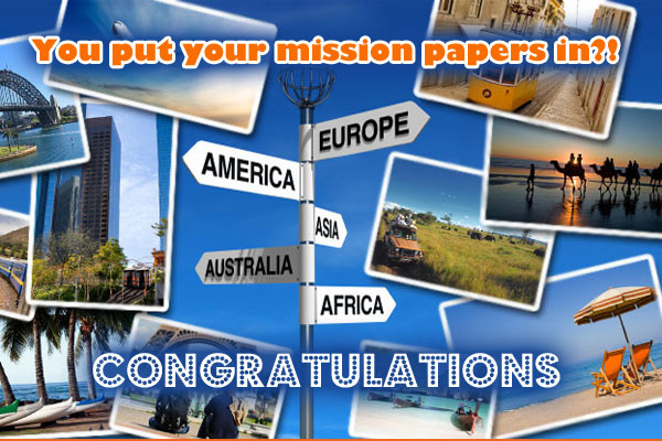 Mission Papers Congrats Ecard