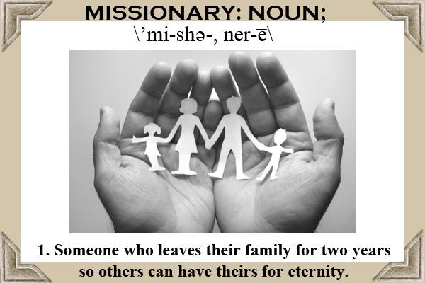 Missionary Definition Ecard