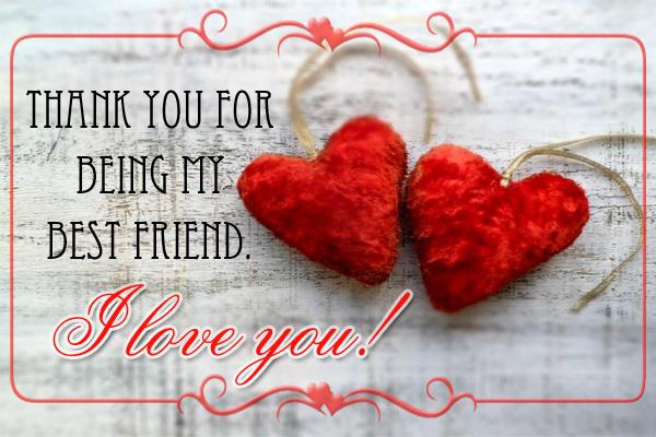 Valentines Best Friend Ecard