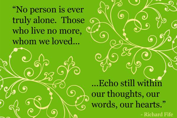 No Person is Alone Mormon Ecard
