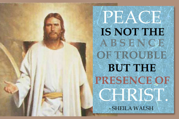 Peace Presence of Christ Mormon E-Card