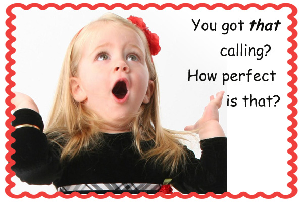 Perfect Calling Primary Mormon Ecard