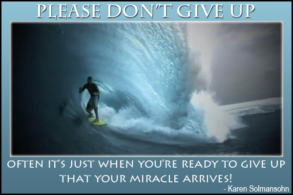 Please Dont Give Up Mormon E-Card