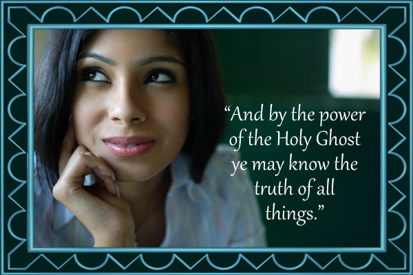 Power of the Holy Ghost Mormon E-Card