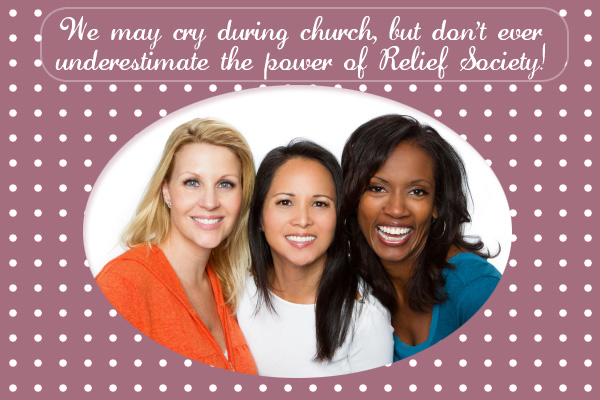 Power of Relief Society Mormon Ecard