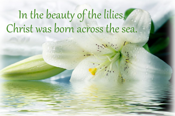 Christ Was Born Across the Sea Priesthood Mormon Ecard