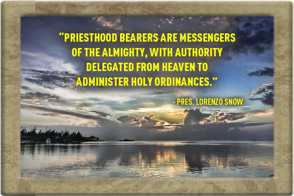 Priesthood Messengers of Almighty Mormon Ecard