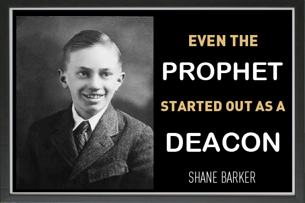 Prophet Started as a Deacon Mormon Ecard