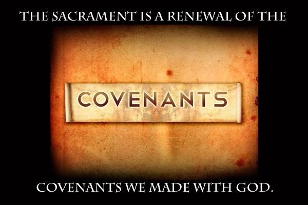 Sacrament Covenants Mormon Ecard