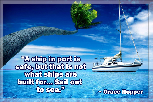 Sail Out to Sea Mormon E-Card