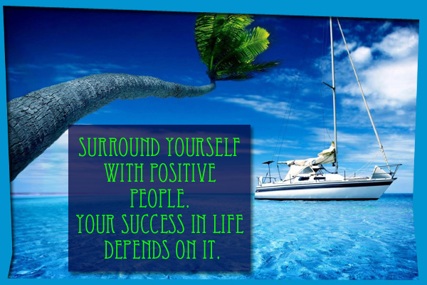 Surround Yourself with Positive People Mormon E-Card