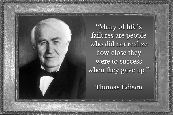 Thomas Edison Success LDS Mormon E-Card