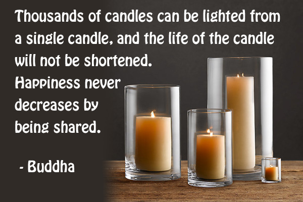 Thousands of Candles LDS Mormon E-Card