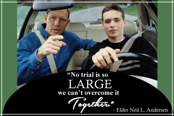Trials Overcome Together LDS Mormon E-Card