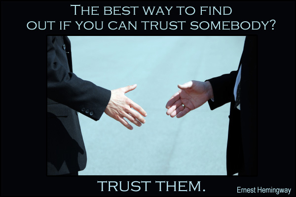 Trust Somebody Mormon E-Card