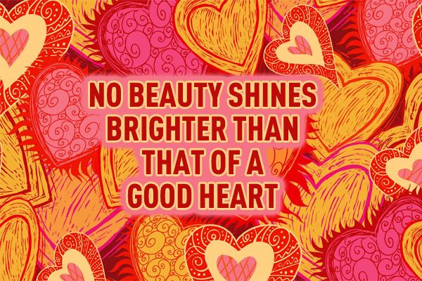 Valentines Good Heart Ecard