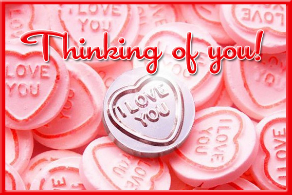 Valentines Thinking of You Ecard