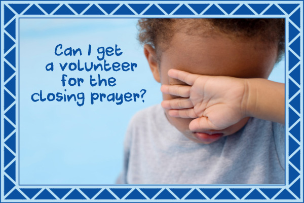Volunteer Closing Prayer Mormon Ecard