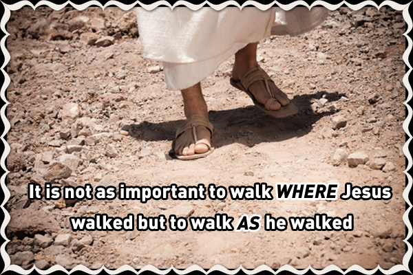 Walk as Jesus Walked LDS Mormon E-Card