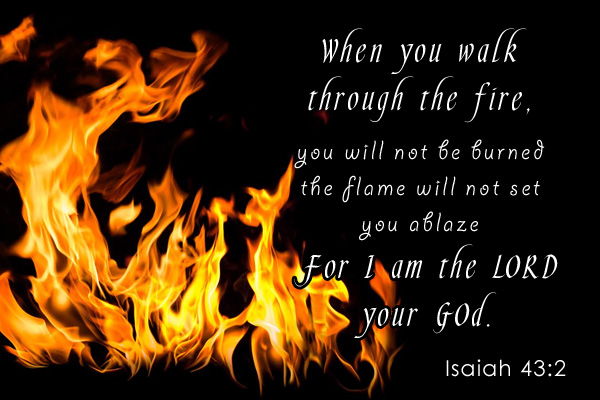 Walk Through Fire Mormon E-Card